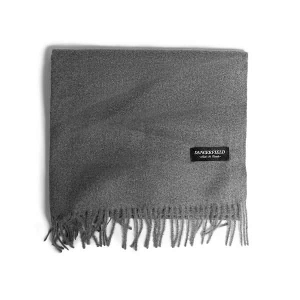 Grey Cashmere/Wool Scarf