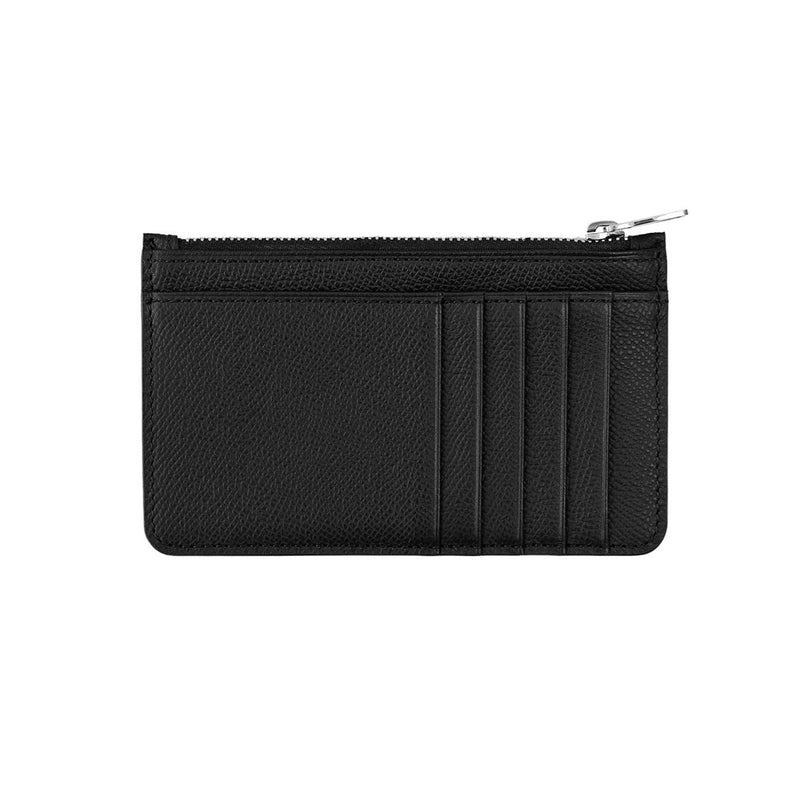 Zipped Cardholder Pebble Grain
