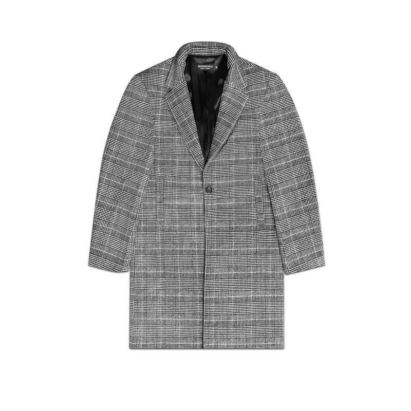 Glen Check Overcoat