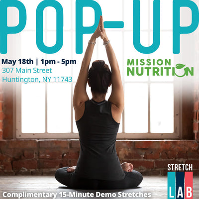 Stretchlab Pop-Up @ Mission Nutrition Huntington