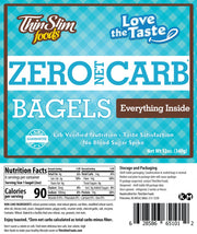Love-The-Taste Low Carb Bagels (Everything)