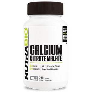 Calcium Citrate Malate (270 Vegetable Capsules)