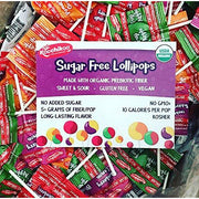 Sugar Free Organic Lollipops
