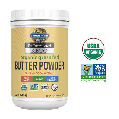 Organic Grass Fed Butter Powder 30 Servings