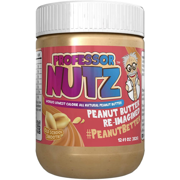 Professor Nutz Smooth Peanut Butter 12.41 oz