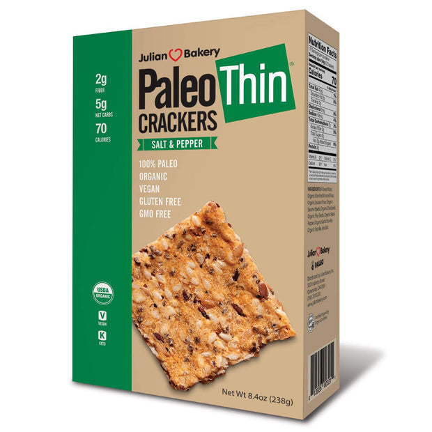 Paleo Thin Crackers