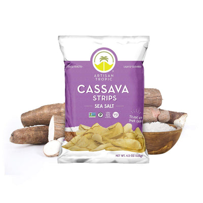 Cassava Strips Yuca W/ Sea Salt 4.5 Oz