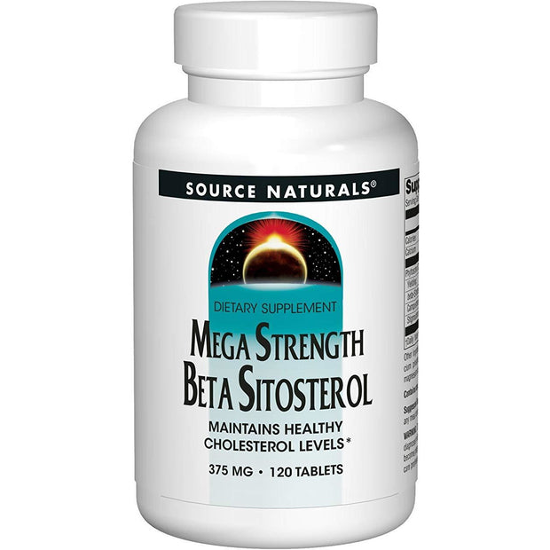 Mega Strength Beta Sitosterol (120 Tablets)