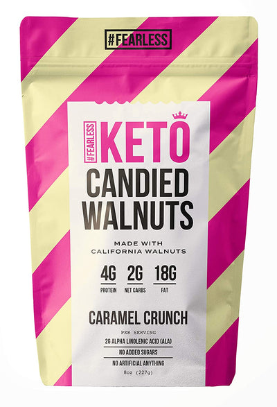 Keto Candied Walnuts 8 oz