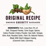 Smoked Shorty Sausages 5 oz.