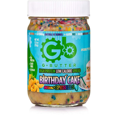 G BUTTER BIRTHDAY CAKE