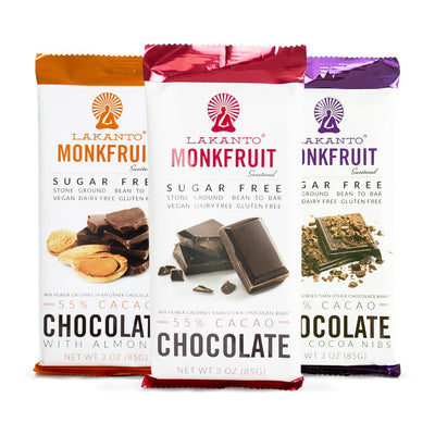 Lakanto Sugar Free, 55% Chocolate Bars