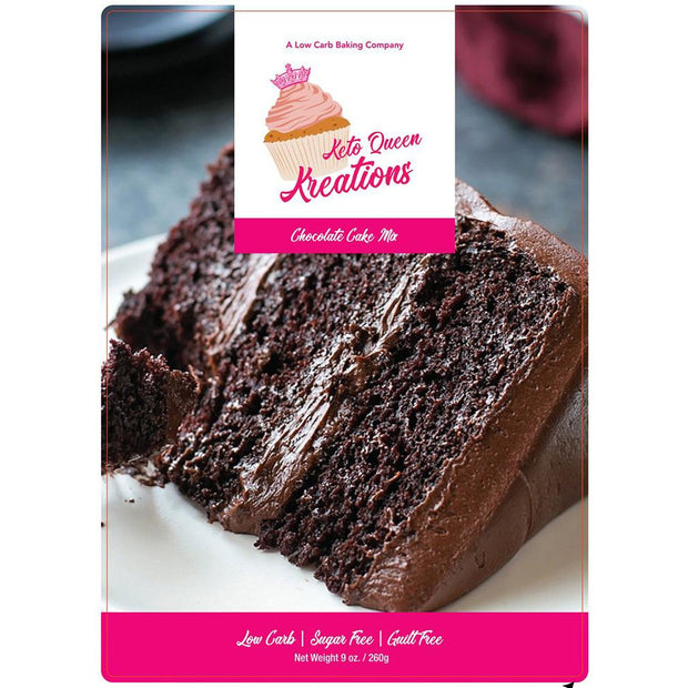 Chocolate Cake Mix Low Carb 9 oz