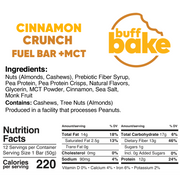 Buff Bake Keto Bars