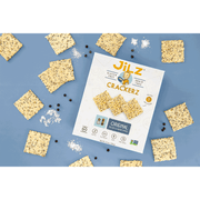 Cracked Pepper and Sea Salt Gluten-Free Crackers 5.5 oz