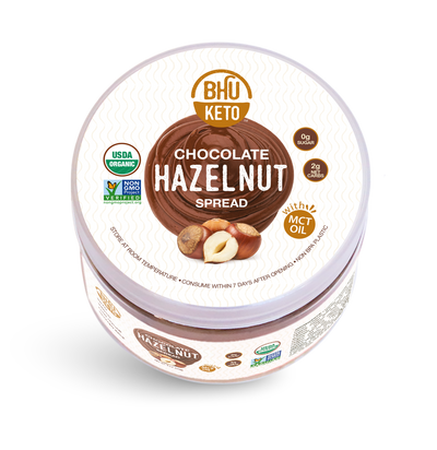 BHU Keto Chocolate Hazelnut Spread 9 oz
