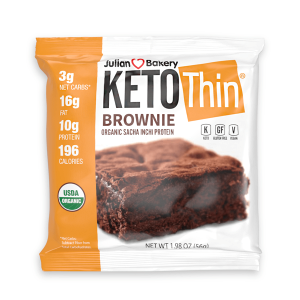Keto Thin Brownie