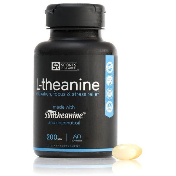 L-Theanine 200 Mg (60 Softgels)