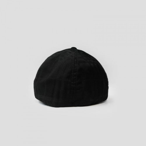 Flexfit Hat Tonal Check Black