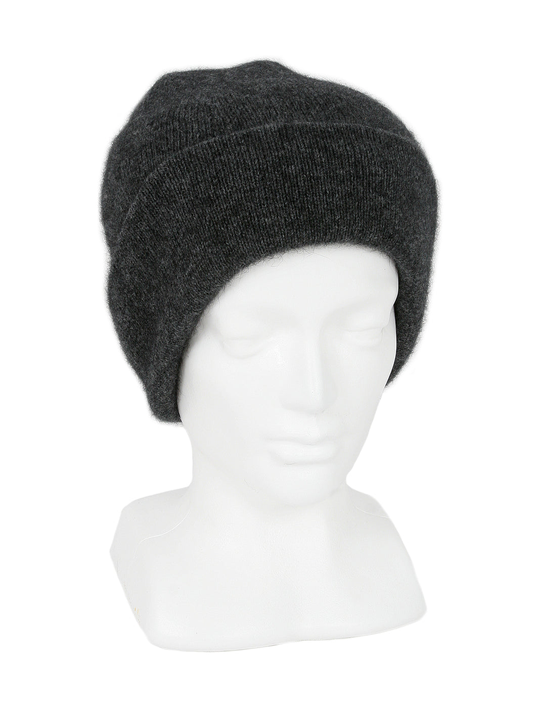 Merino Possum Plain Beanie charcoal