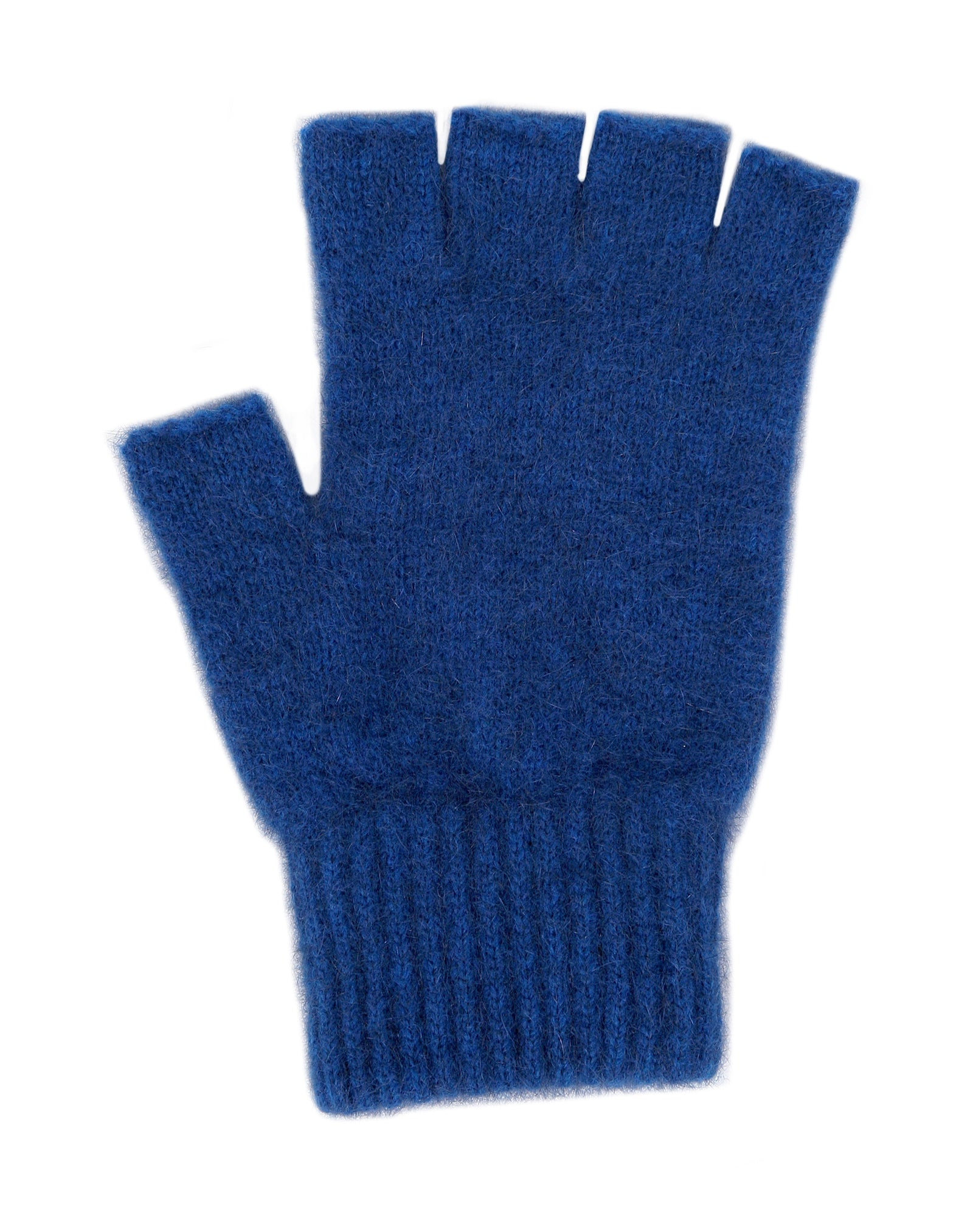Merino Possum Open Finger Gloves lagoon