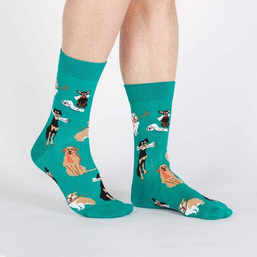 Chew on This: mens crew socks