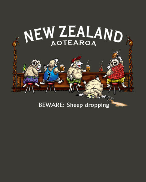 New Zealand Tee: Sheep Dropping