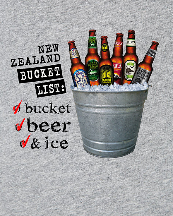 New Zealand Tee: Bucket List