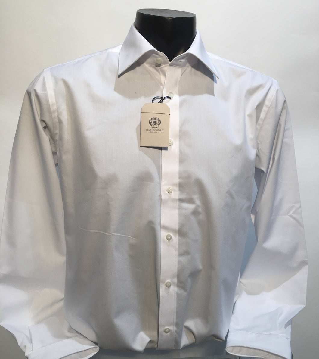 Cambridge classic white shirt