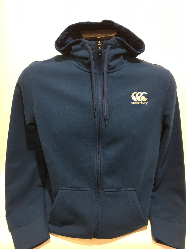 Canterbury zip thru fleece hoodie