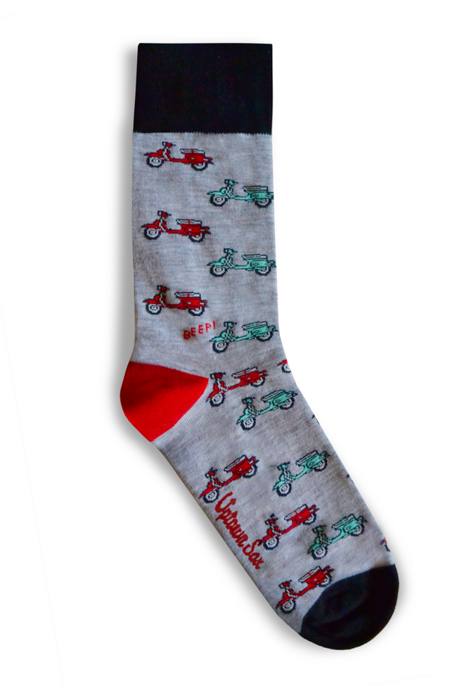 Roman Holiday: mens crew socks