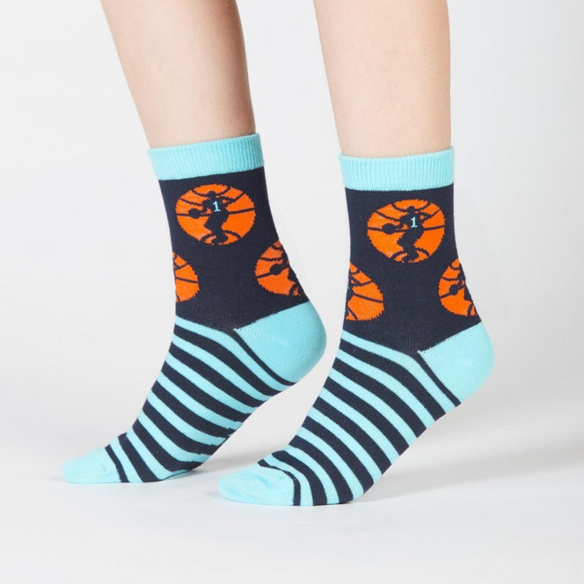 Nothin' But Net: kids crew socks