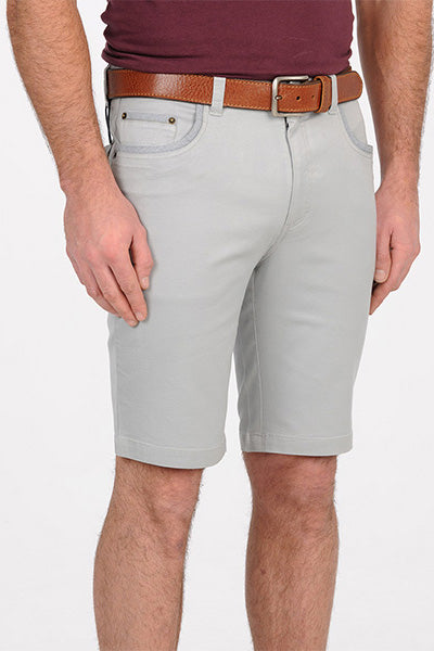 Bob Spears Five Pocket Shorts Grey B19G