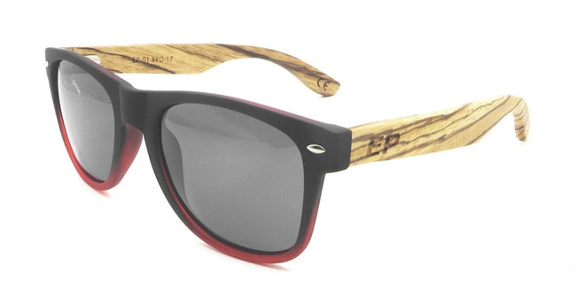 Black to Red sunglasses