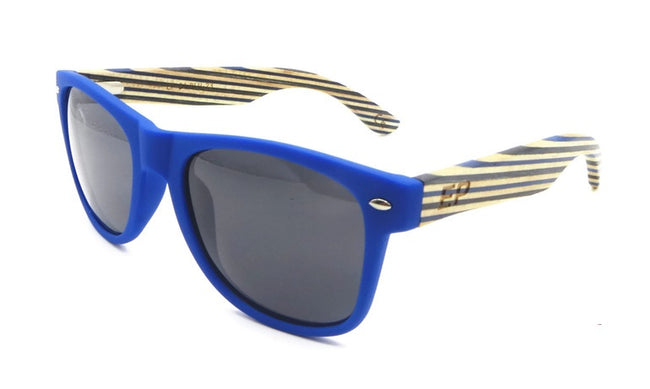 Blue Matte Stripe sunglasses