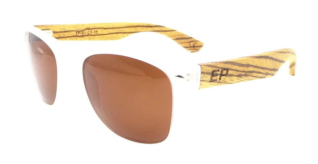 Clear Transparent: Brown sunglasses