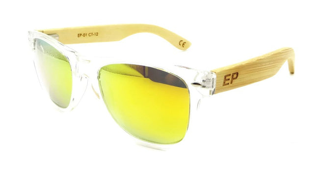 Clear Transparent: Yellow lens sunglasses