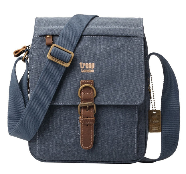 Classic Shoulder Bag - Blue
