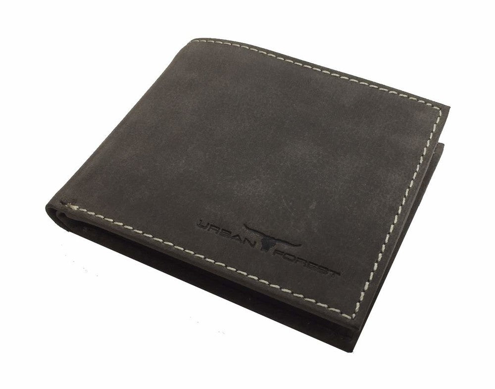 Amos Leather Wallet Taupe