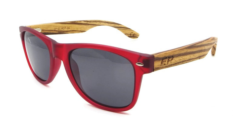 Red Transparent sunglasses