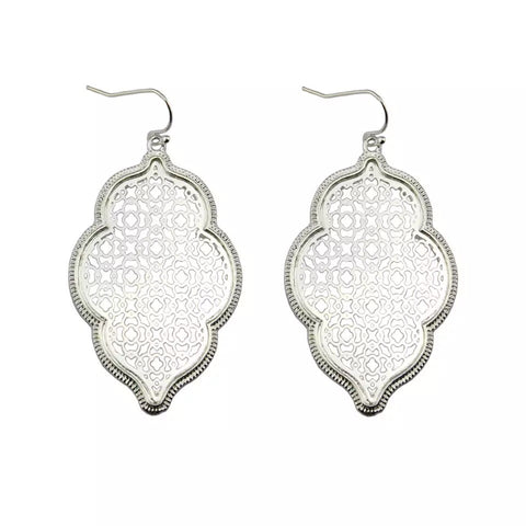 Asha Filigree Earrings