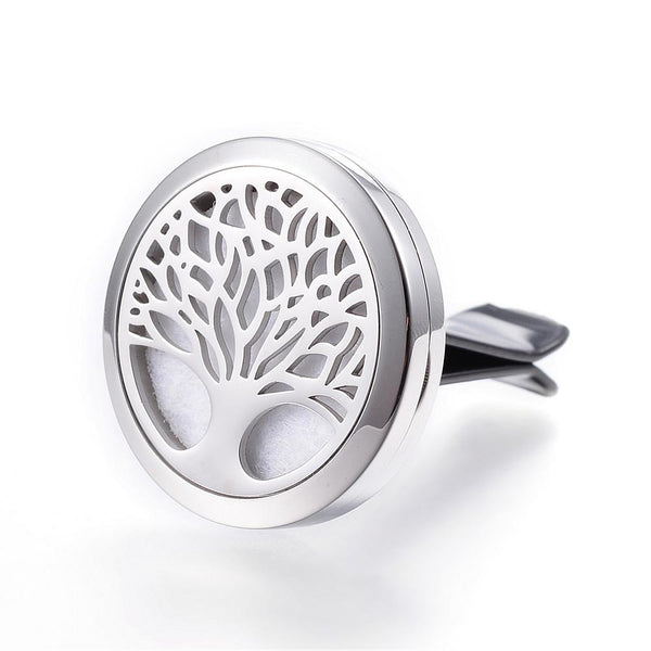 Tree of Life - Basic Design Essential Oil Car Diffuser Locket
