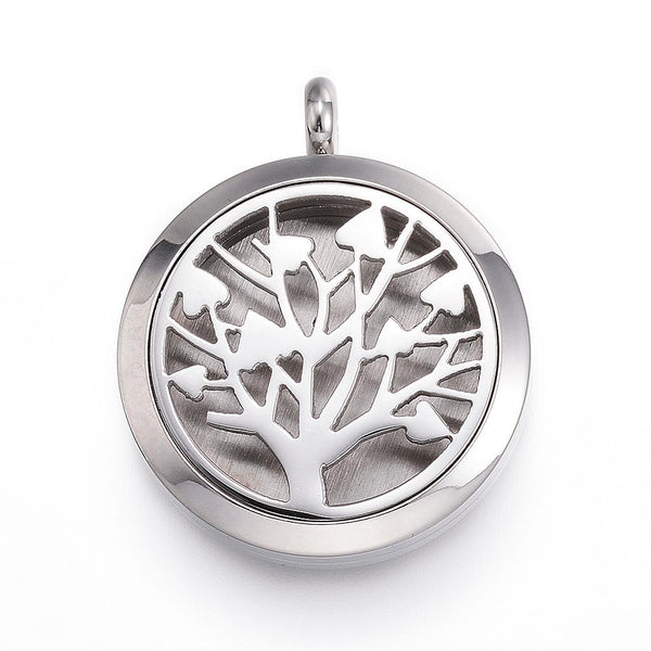 Tree of Life, Stainless Steel Color