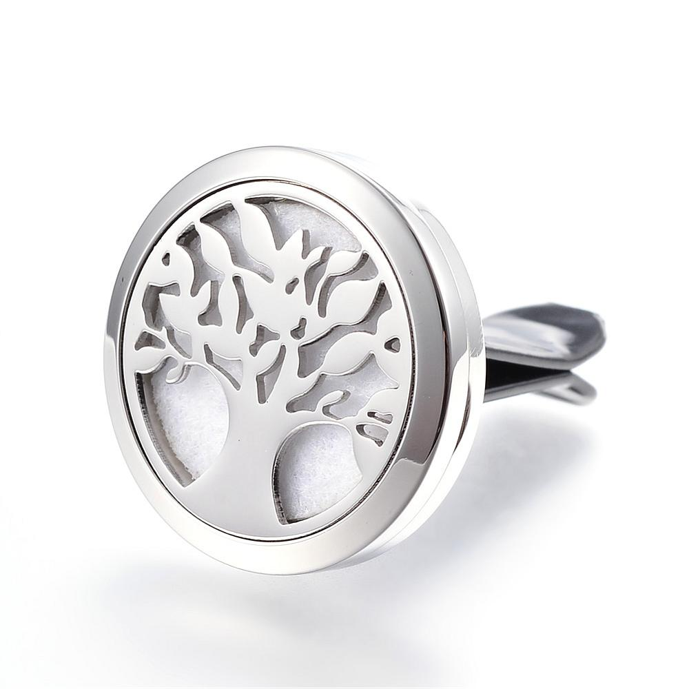 Tree of Life - Thick Design Essential Oil Car Diffuser Locket