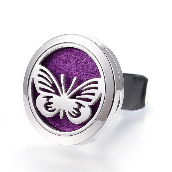 Butterflies  -  Essential Oil Car Diffuser Locket