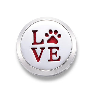 LOVE Pets - Essential Oil Car Diffuser Locket