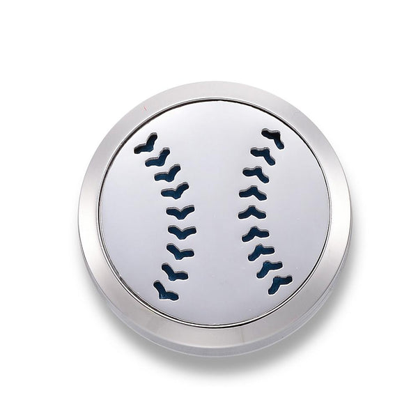 Baseball - Essential Oil Car Diffuser Locket