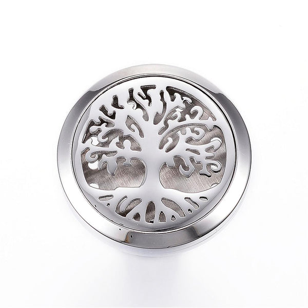 Tree of Life - Roots Design Essential Oil Car Diffuser Locket