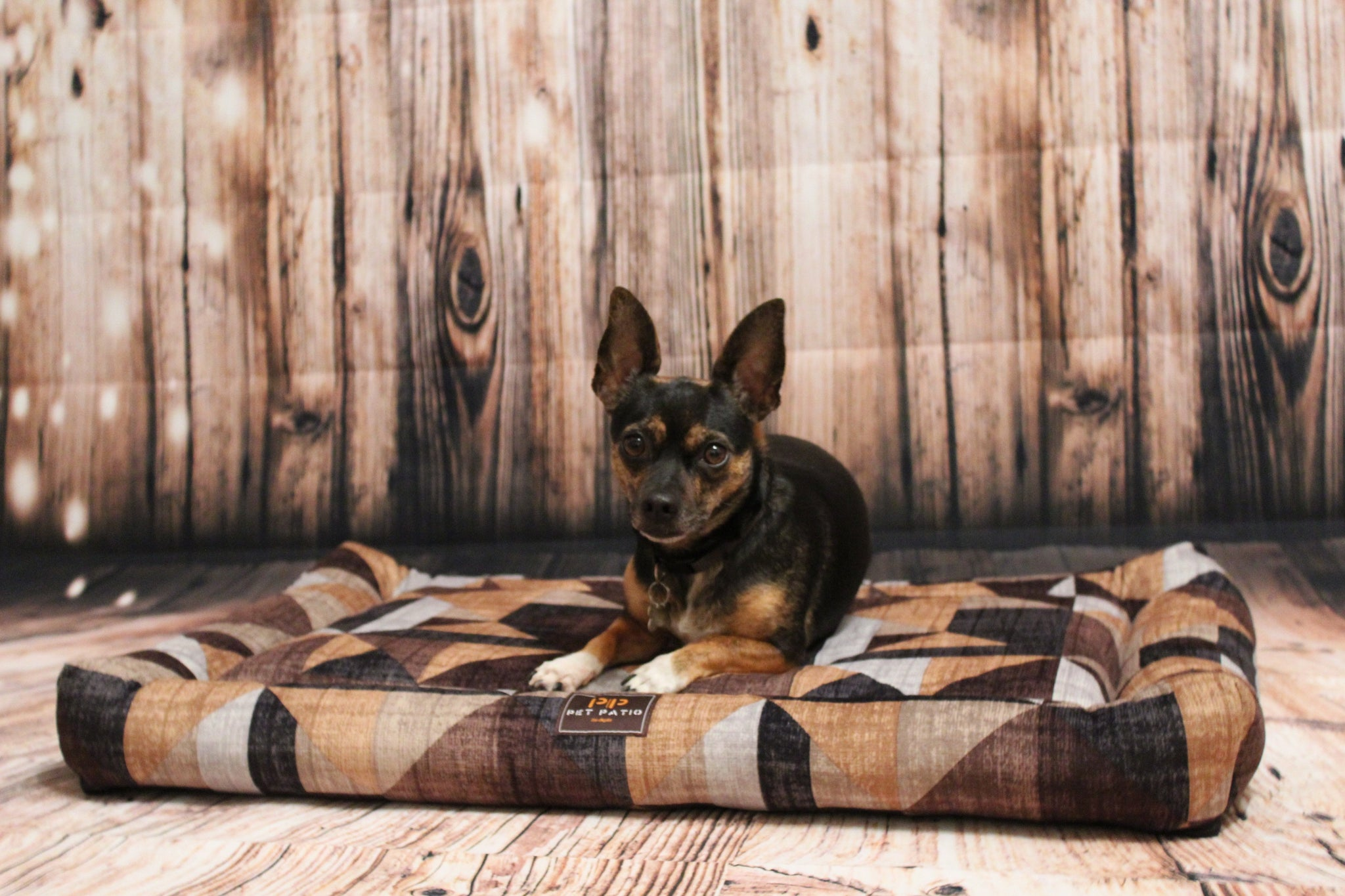 Orthopedic Dog Bed with Washable Cover (Rectangle shape)