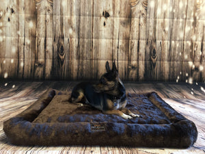 Orthopedic Dog Bed (Chocolate color)